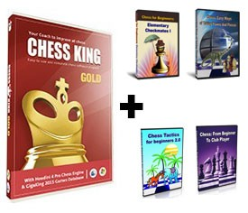 Chess King Gold + 4 Peshka Courses Level 1 (Download)