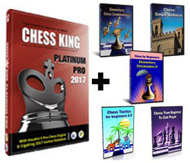 Chess King Platinum Pro + 5 Peshka Courses Level-2 (Download)