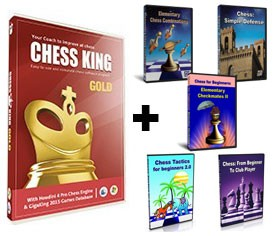 Chess King Gold + 5 Peshka Courses Level-2 (Download)
