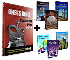 Chess King Platinum Pro + 6 Peshka Courses Level-3 (Download)