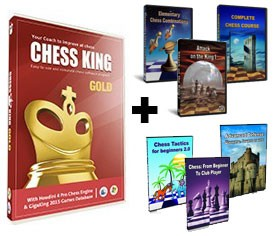 Chess King Gold + 6 Peshka Courses Level-3 (Download)