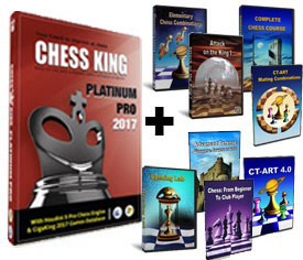 Chess King Platinum Pro + 8 Peshka Courses Level-4 (Download)