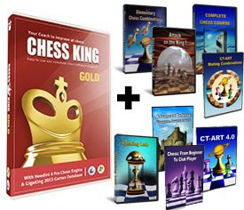 Chess King Gold + 8 Peshka Courses Level-4 (Download)