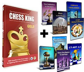 Chess King Gold + 8 Peshka Courses Level-5 (Download)