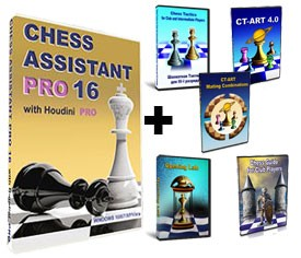 Chess Assistant 16 PRO + 5 Peshka Courses Level-6 (Download)