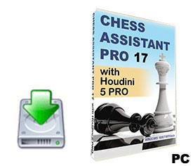 Chess Assistant 17 PRO with Houdini 5 PRO (for PC, download)