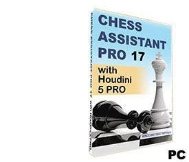 Chess Assistant 17 PRO with Houdini 5 PRO (for PC, DVD)