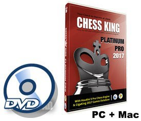 Chess King Platinum Pro (new for 2017) DVD