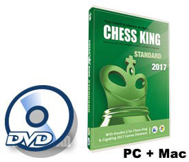 Chess King Standard (new 2017 version) DVD