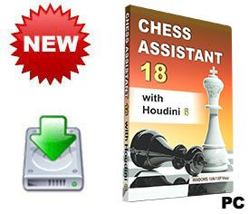 Chess Assistant 18 with Houdini 6 (for PC, download)