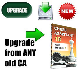 Upgrade to Chess Assistant 18 with Houdini 6 (download)