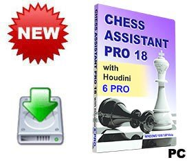 Chess Assistant 18 PRO with Houdini 6 PRO (for PC, download)