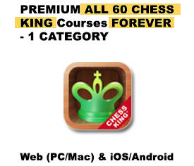Premium All 60 Chess King Courses 1 Category – FOREVER
