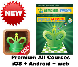 Chess King Learn web + iOS + Android All CK courses subscription – 12 MONTHS