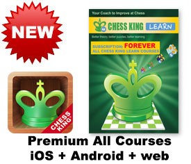 Chess King Learn web + iOS + Android All CK courses subscription – FOREVER