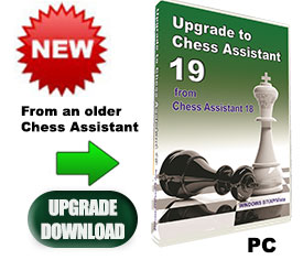 Upgrade CA18 to Chess Assistant 19 with Houdini 6 (download)