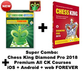 Chess King Diamond Pro (2018) + Chess King Learn web + iOS + Android All CK courses subscription – FOREVER