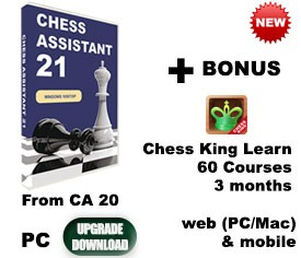 Upgrade Chess Assistant 20 to 21 (download)