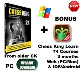 Upgrade older Chess King PC to Chess King 21 PC (download)