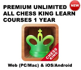 Premium Unlimited ALL Chess King Learn courses – 1 Year