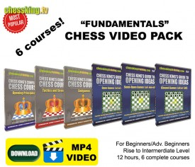 Chess King TV – 6 Courses Fundamental Video Download Pack